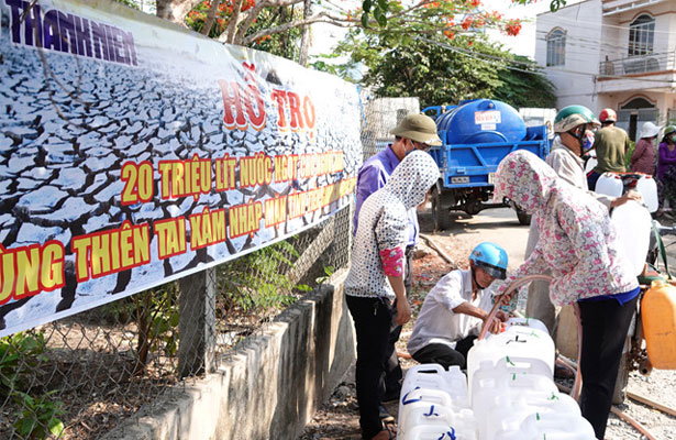 20 Million Liter Of Fresh Water For People in Tien Giang, Ben Tre